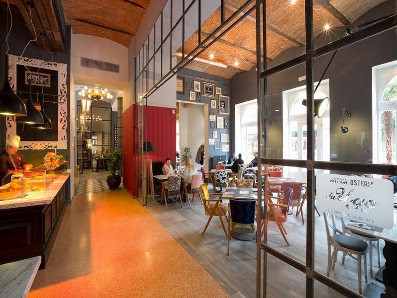 Die Antica Osteria mit Taverne