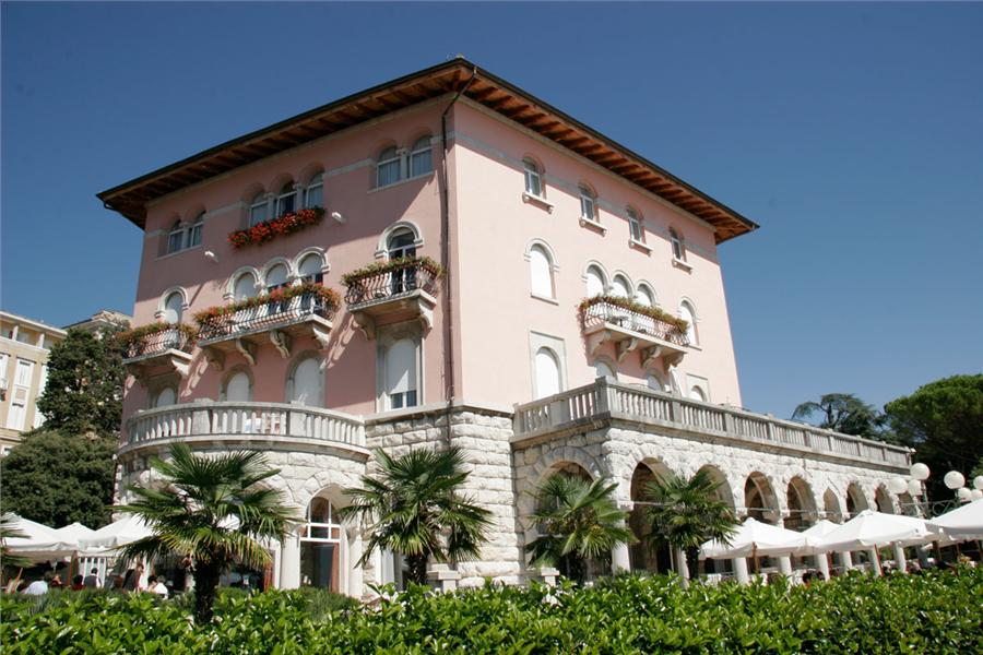 The elegant Hotel Milenij is centrally situated in Opatija close to ...
