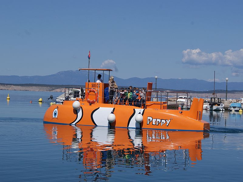 Peppy Submarine Crikvenica