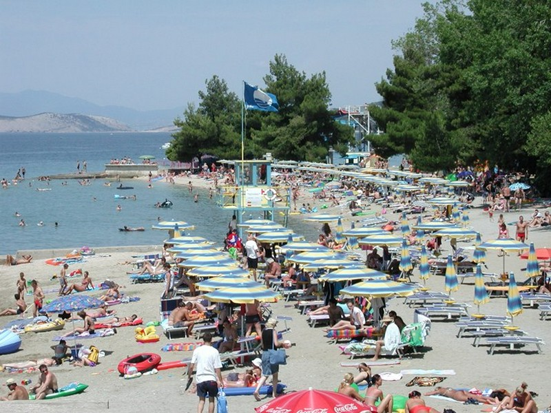 Crikvenica sandy beach
