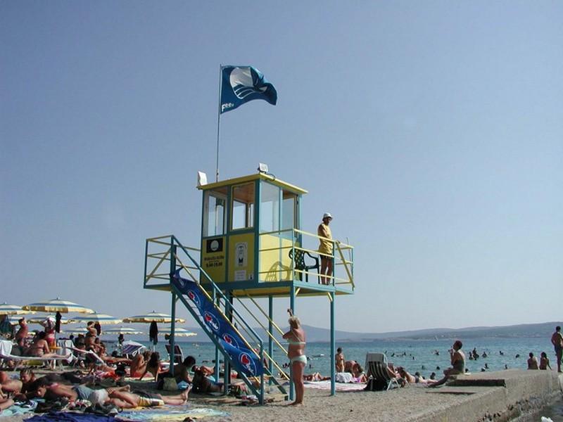 Crikvenica spiaggia di sabbia