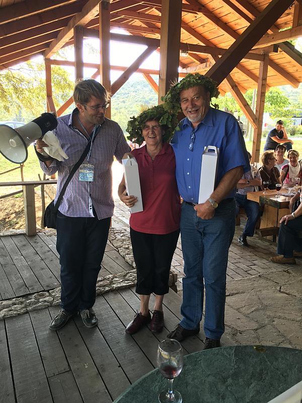 Konig und Konigin Weinlese