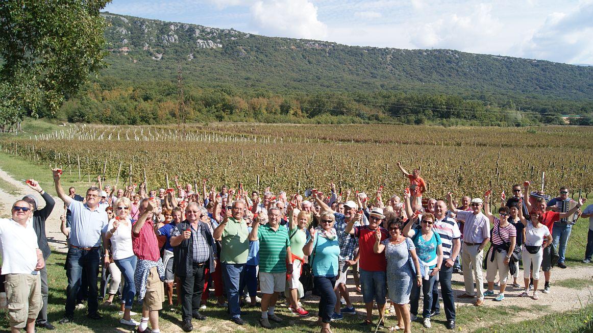 Il piacere di vino d'autunno