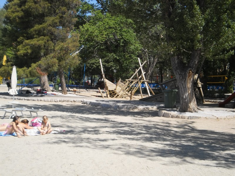 Crikvenica sandy beach