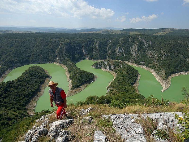 Wandererlebniss in Serbien