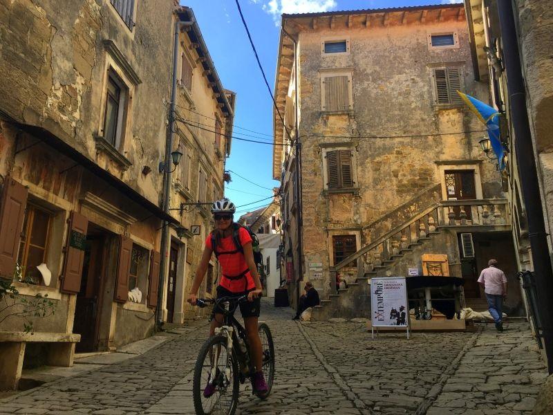 Wandern und Bike durch die Kroatische Toscana