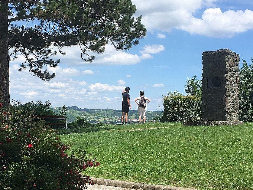 Route   südosten  von   hrvatsko   zagorje